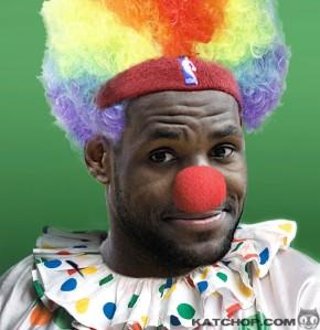 clown lebron