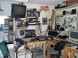 messy studio
