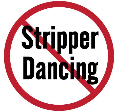 No Strippers