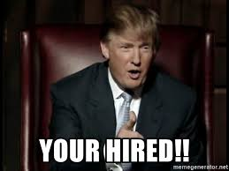 your hired